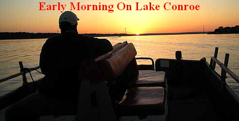 Early Morning On Lake Conroe